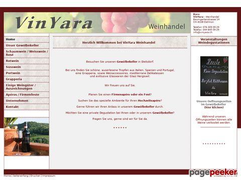 Vinyara - Weinhandel