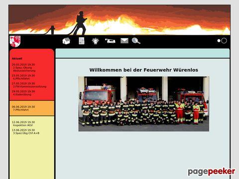 LODUR Wuerenlos - Feuerwehr Würenlos