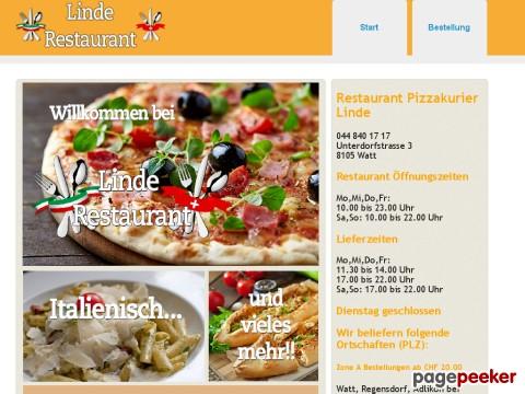 Restaurant Linde Watt