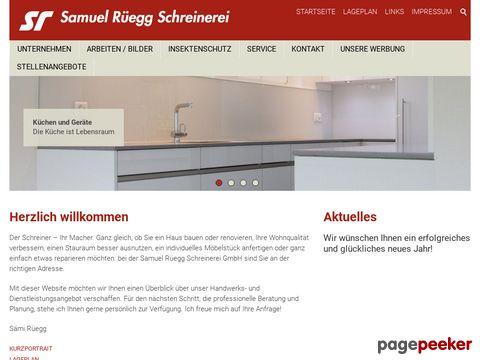 Samuel Rüegg Schreinerei GmbH