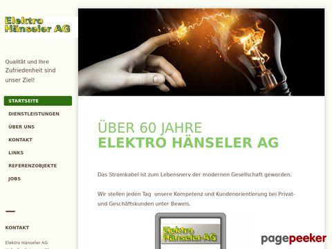 Elektro Haenseler AG