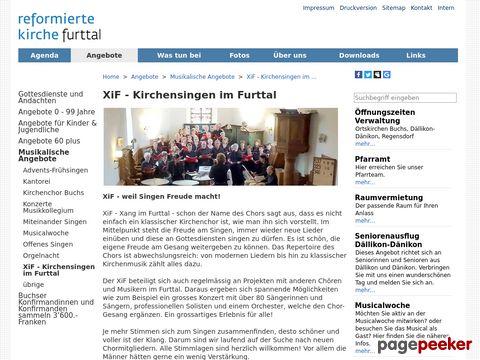 XiF - Kirchensingen im Furttal - bei der Evangelisch-reformierten Kirchgemeinde Dällikon-Dänikon