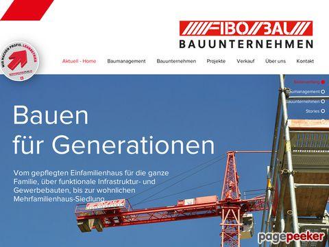 FIBO BAU AG - Bauen für Generationen
