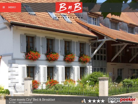 Cow meets City Bed & Breakfast (Watt bei Regensdorf ZH)