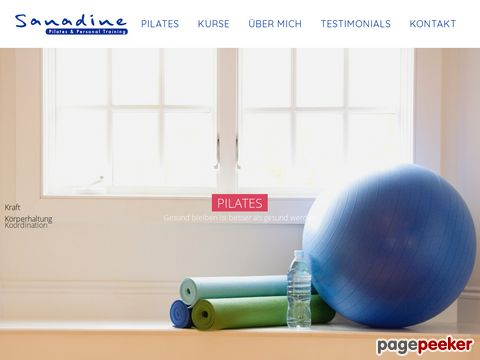 Pilateskurse by Sanadine - Pilateskurse in Würenlos