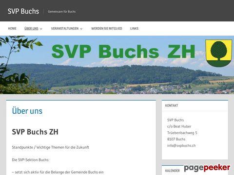 SVP Buchs ZH