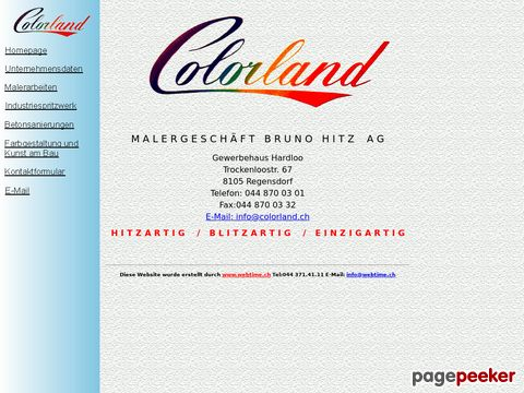 Colorland B. Hitz AG