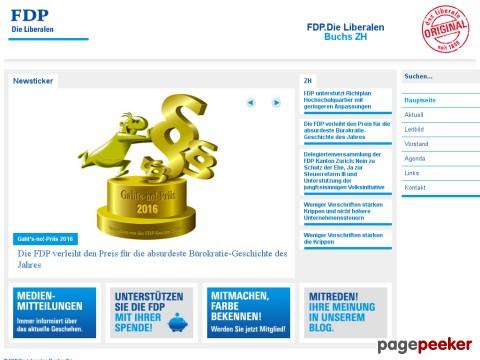 FDP.Die Liberalen Buchs ZH