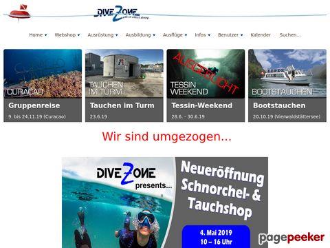 divezone.ch - Webshop & Lokal in Würenlos - Tauchschule - Tauchkurse - Tauchferien
