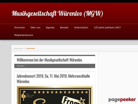 Musikgesellschaft Würenlos (MGW)