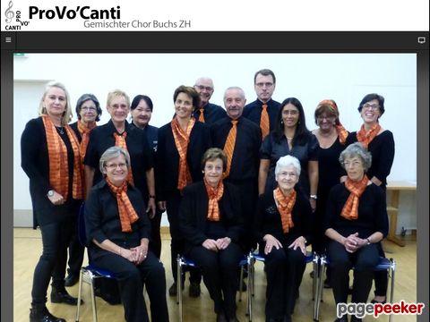 ProVoCanti - Gemischter Chor Buchs ZH