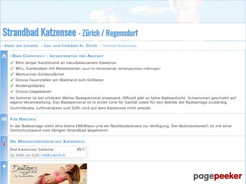 Freibad Katzensee (ZH)