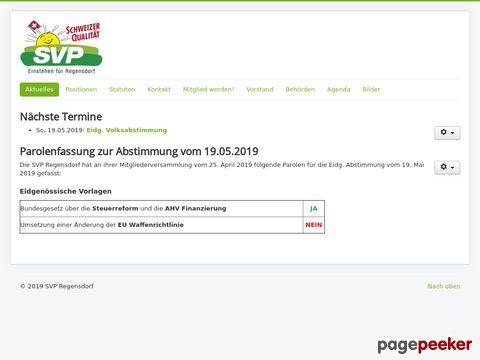 SVP - Regensdorf