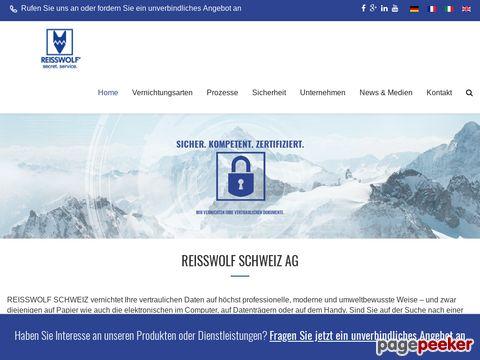 Aktenvernichtung Reisswolf AG