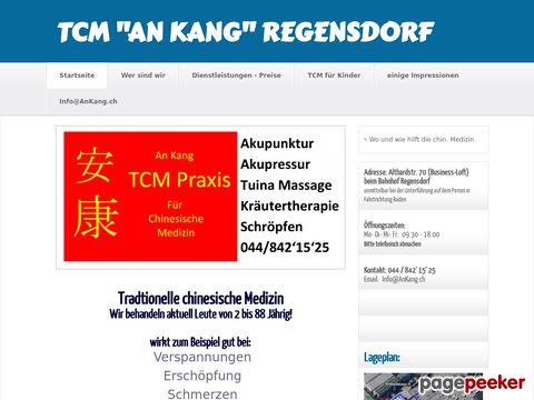 TCM An Kang Regensdorf - Tradtionelle chinesische Medizin