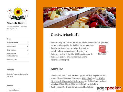 Gastwirtschaft Seeholz Beizli - Die Besenbeiz am Katzensee (Watt bei Regensdorf)