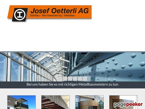 Oetterli Josef AG - Metallbau, Stahlbau;  Schlosserei