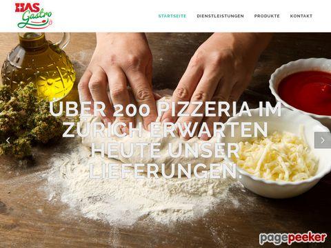 HAS Gastro Service - Lieferung von Lebensmittel an Gastrobetriebe