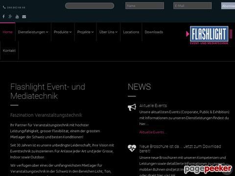 Flashlight Veranstaltungstechnik