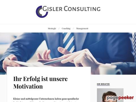 Gisler Consulting