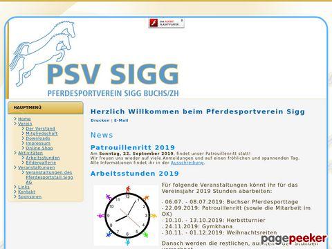 Pferdesportverein Sigg - Buchs ZH