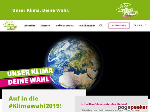 Die Grünen - Ökologisch konsequent, sozial engagiert, global solidarisch