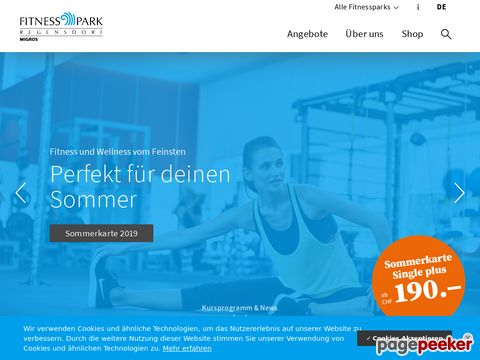 Migros Fitnessparks: Wellness - Fitness - Kurse