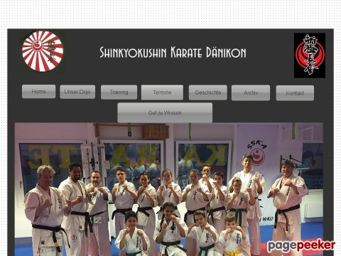 Shinkyokushin Karate Schule Daenikon
