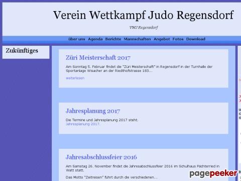 Verein Wettkampf Judo - VWJ Regensdorf