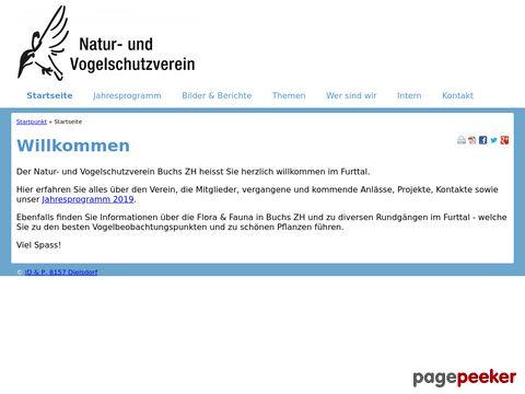 Natur- und Vogelschutzverein Buchs ZH