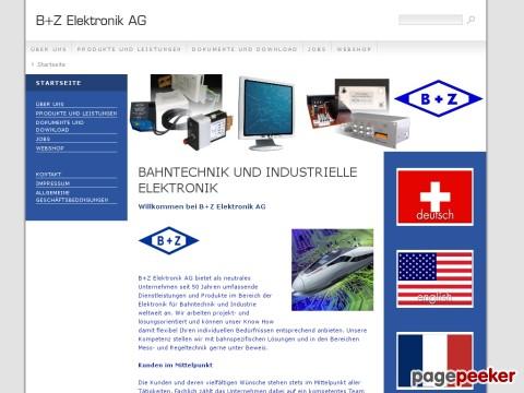 B Z Elektronik AG