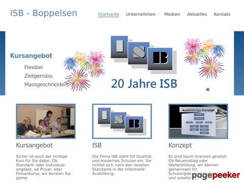 ISB - Informatik Schulung Boppelsen
