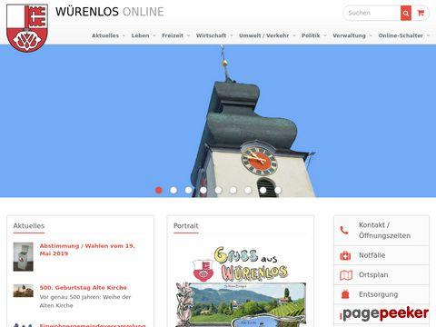 Würenlos AG (CH-5436)
