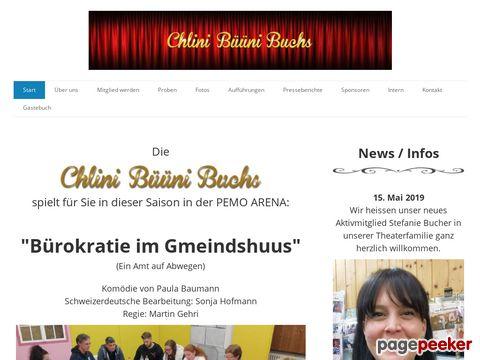 Theaterverein Chlini Büüni Buchs