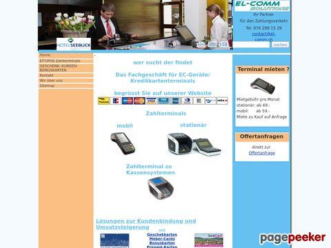 EL-COMM SOLUTIONS - Anbieter von Lösungen im Bereich Zahlungsverkehr