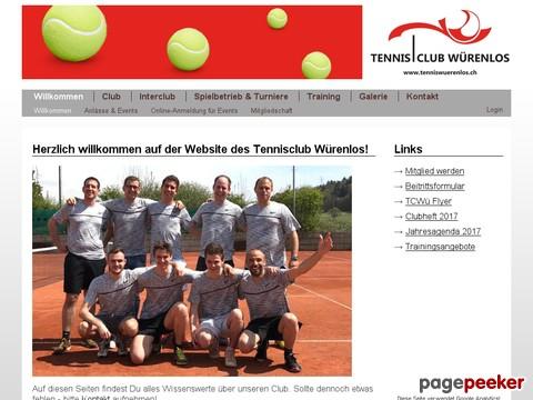 Tennisclub Würenlos (TC Würenlos)