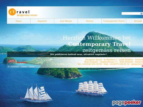cTravel - zeitgemäss Reisen - Ihr Reisebüro in Dällikon