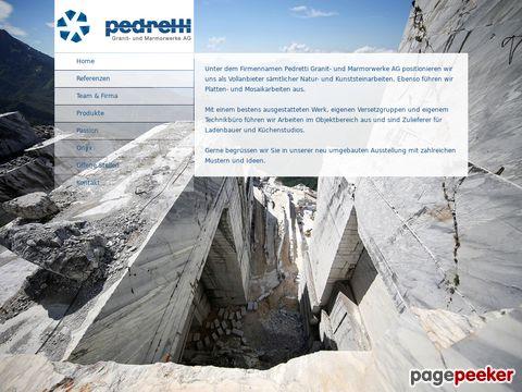 Pedretti Granit- und Marmorwerk AG