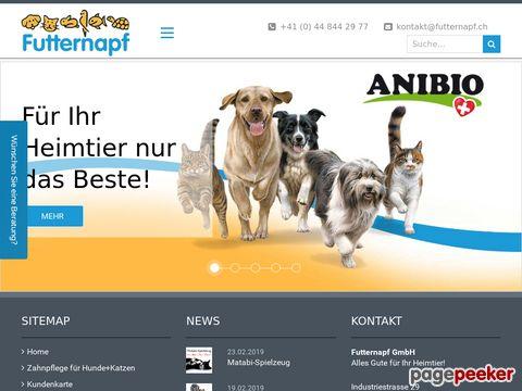 Futternapf GmbH  -  Alles Gute für Ihr Heimtier!