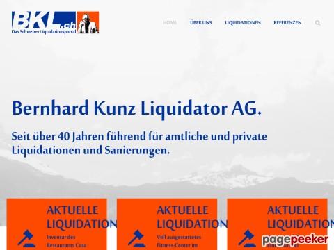Bernhard Kunz Liquidator AG