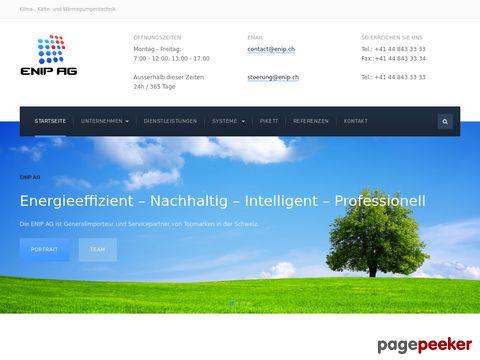 ENIP AG - Klima-, Kälte- & Wärempumpentechnik