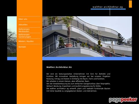 walther architektur ag