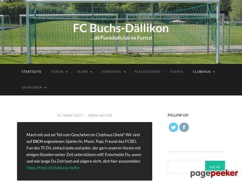 FC Buchs-Dällikon! Der Fussballklub im Furttal!