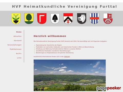 Heimatkundlicher Verein Furttal (HVF)