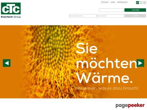 CTC Giersch AG - Sie möchten Wärme. Wir wissen, was es dazu braucht.