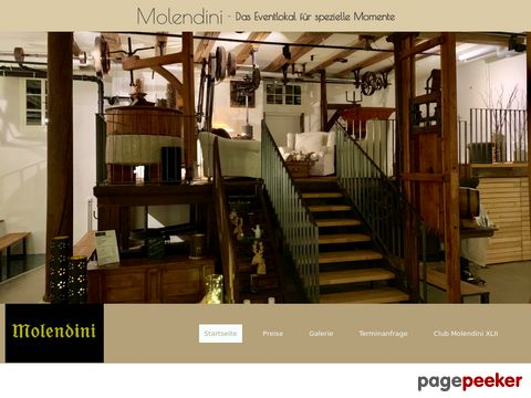 Molendini - Eventraum in der Mühle in Buchs
