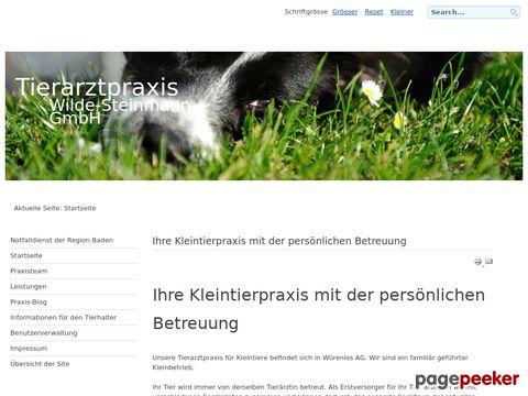 Tierarztpraxis Wilde-Steinmann GmbH - Ihre Kleintierpraxis mit der persönlichen Betreuung
