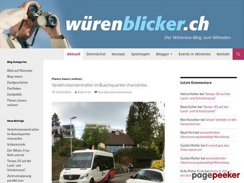 WÜRENBLICKER | Der Würenlos-Blog zum Mitreden