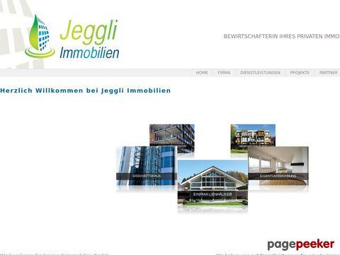 Jeggli Immobilien GmbH - Bewirtschafterin Ihres privaten Immobilienbesitzes