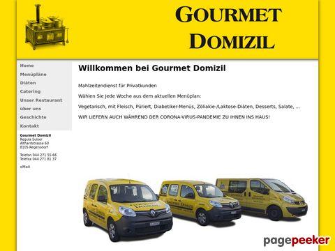 Gourmet Domizil - Mahlzeitendienst für Privatkunden